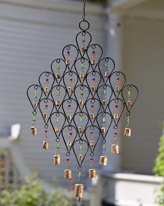 Beaded Lattice Windchime_India